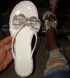 Candy color rhinestones women  sandals outdoor
