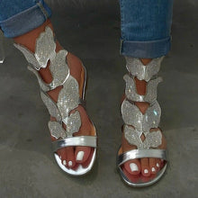 Load image into Gallery viewer, Rhinestone Women SoftNon-slip Sandals Foam Sole Durable Sandals
