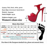 High Heels Sexy Open Toe  Women Shoes