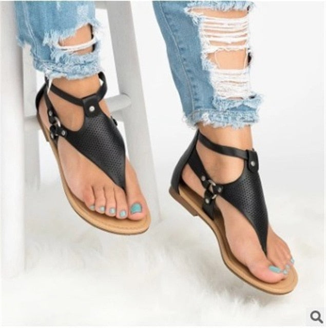 New Hot Sale Summer Sandals Casual Flat - Thj Fashion Boutique