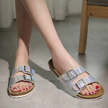 Load image into Gallery viewer, Fashion Cork  Casual  Buckle Strap Sandals Sanders