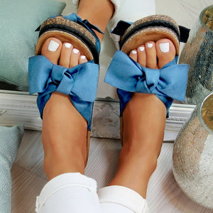 New Slippers Women Torridity Bow Torridity Slipper Indoor Outdoor