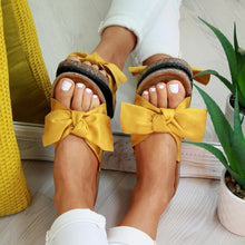 Load image into Gallery viewer, New Slippers Women Torridity Bow Torridity Slipper Indoor Outdoor