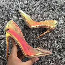 Load image into Gallery viewer, sexy pointed toe high heels pumps women shoes - Thj Fashion Boutique