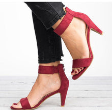Load image into Gallery viewer, Women Peep Toe Thin Heels Sandals - Thj Fashion Boutique
