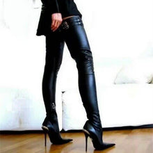 Load image into Gallery viewer, Women Popular Thigh High Boots Over-the-knee Heels Long Boots