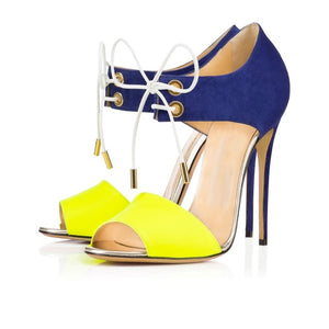 Original Intention Women  Open Toe Thin Heels - Thj Fashion Boutique