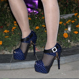 Elegant high heel peep toe pumps - Thj Fashion Boutique