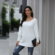 Sexy off-Shoulder Loose Sweater