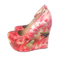 Load image into Gallery viewer, Women  High Heels multi color  Wedge - Thj Fashion Boutique