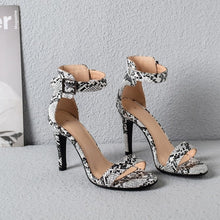 Load image into Gallery viewer, Womens High Heel Summer Shoes Single Strap Open Toe Hels - Thj Fashion Boutique