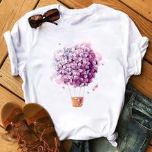 Load image into Gallery viewer, Bicycle Vogue T Shirt Women Summer Casual T-shirts