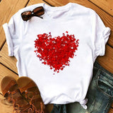 Bicycle Vogue T Shirt Women Summer Casual T-shirts