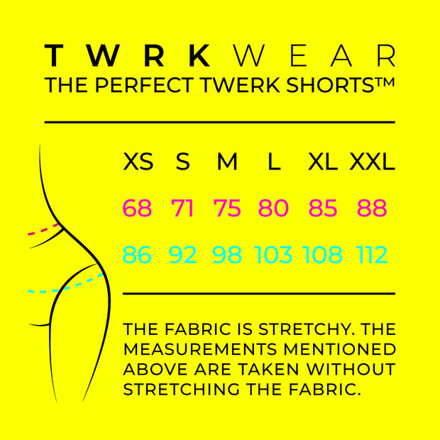 The Perfect Twerk Shorts™ HOT PINK