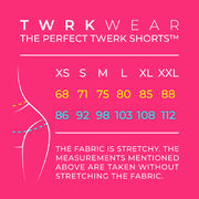 The Perfect Twerk Shorts™ Exclusive Collection: FIERCE RED