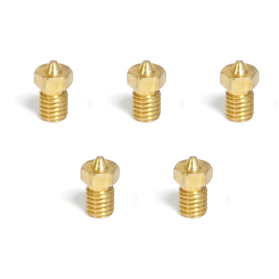 Brass Nozzles 1.75mm (Pack of 5)