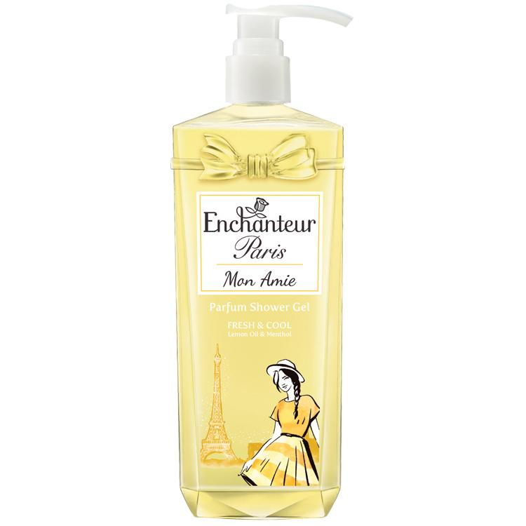 ENCHANTEUR PARIS PARFUM SHOWER GEL MON AMIE 750GM