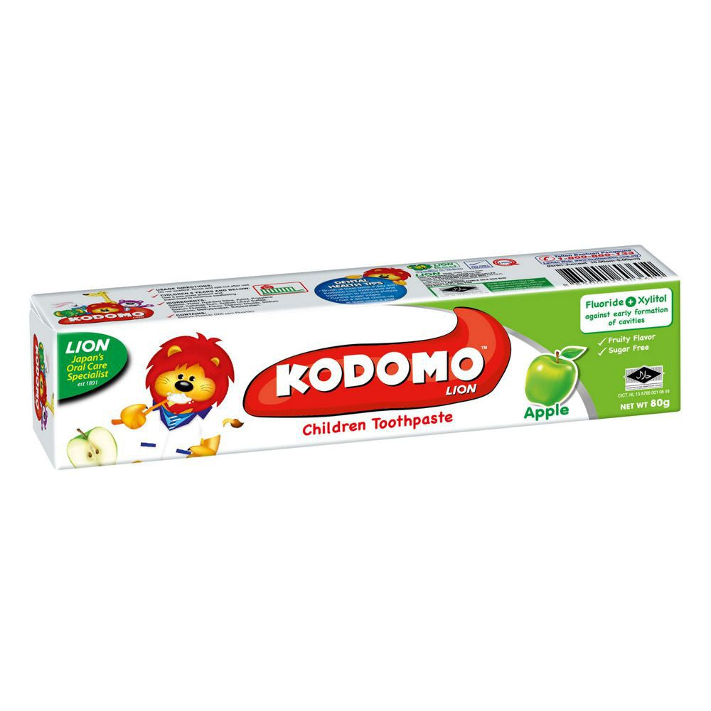 KODOMO CHILD TOOTHPASTE APPLE 80G