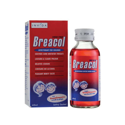 BREACOL SYRUP CHILD 60ML