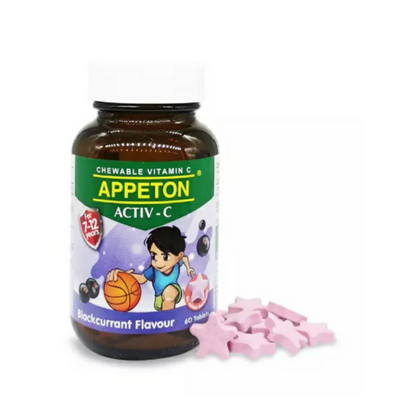 APPETON ACTIV-C 100MG BLACKCURRANT 60'S