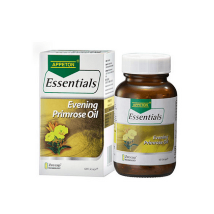 APPETON ESSENTIALS EVENING PRIMROSE OIL 60'S