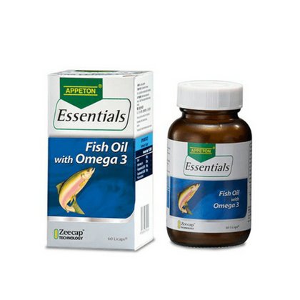 APPETON ESSENTIALS FISH OIL WITH OMEGA 3 60'S