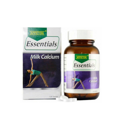 APPETON ESSENTIALS MILK CALCIUM 120'S