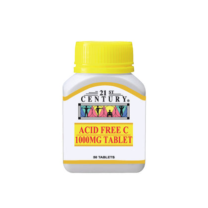 21ST ACID FREE C 1000MG 50'S