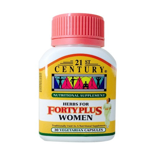 21ST CENTURY HERBS FOR FORTY PLUS WOMEN 30'S