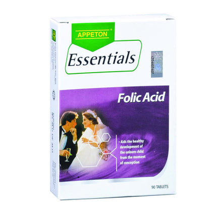 APPETON ESSENTIALS FOLIC ACID 30'SX3