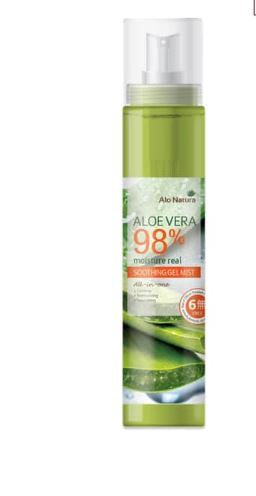ALO NATURA ALOE VERA MOISTURE REAL SOOTHING GEL MIST 125ML