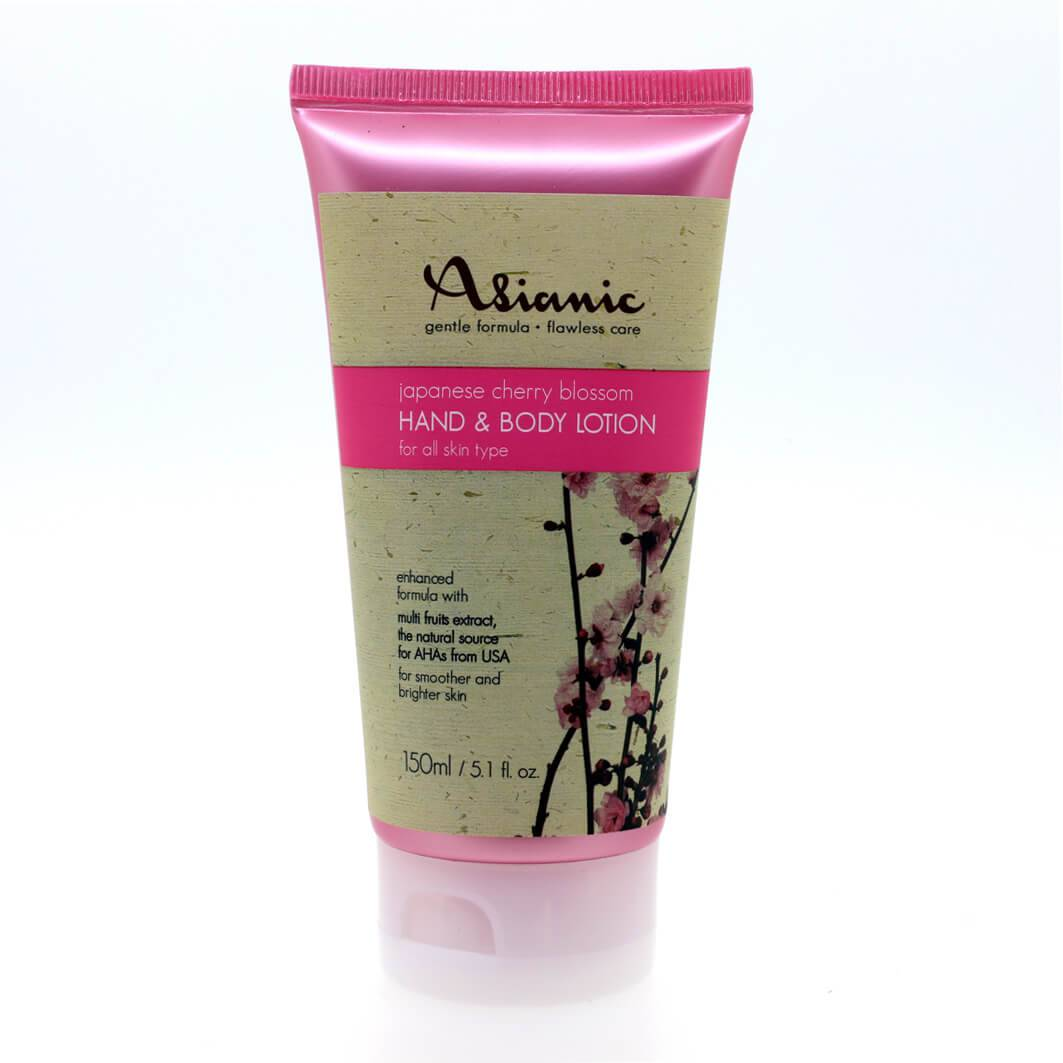 ASIANIC HAND AND BODY LOTION JAPAN CHERRY BLOSSOM 150ML