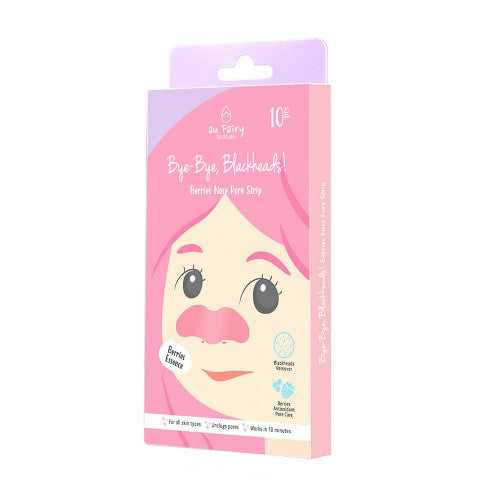 AU FAIRY BYE-BYE BLACKHEADS! BERRIES NOSE POSE STRIP 10'S