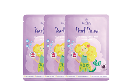 AU FAIRY PEARL PIXIES WHITENING MASK 25ML 3'S