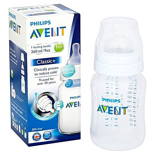 AVENT CLASSIC + FEEDING BOTTLE 260ML