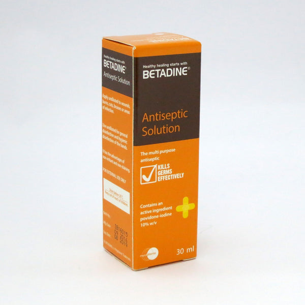 BETADINE ANTISEPTIC SOLUTION 30ML