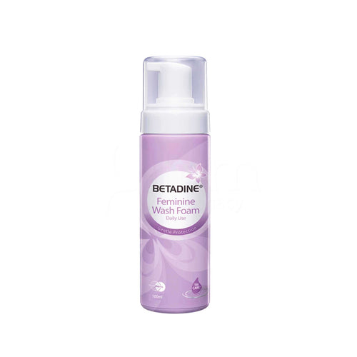 BETADINE FEMININE WASH (PUMP FOAM) 100ML