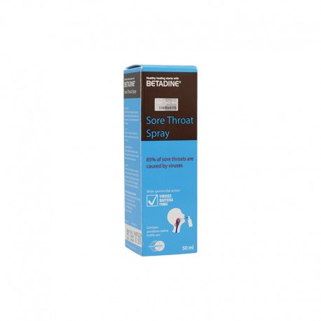 BETADINE THROAT SPRAY 50ML