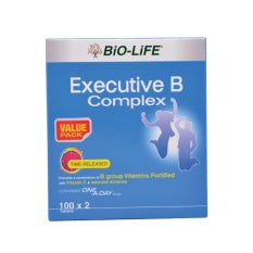 BIO-LIFE EXECUTIVE B COMPLEX 100'S X 2 (VALUE PACK)