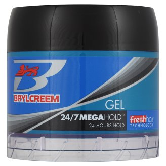 BRYLCREEM 24/7 MEGA HOLD GEL 125ML