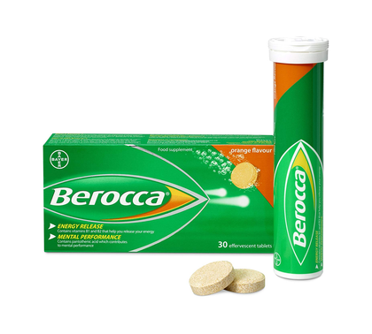 BEROCCA EFFERVESCENT TAB ORANGE 15'SX2