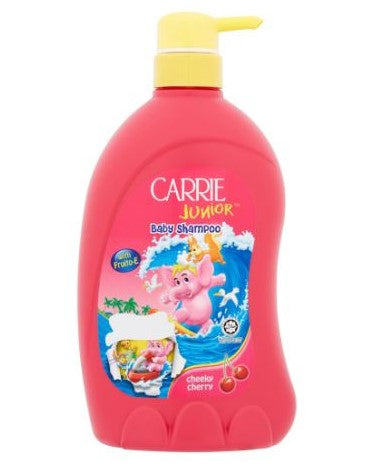 CARRIE JUNIOR BABY SHAMPOO CHEEKY CHERRY + TOY 700GM