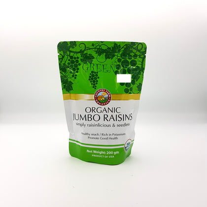 CF ORG GREEN RAISIN 200G