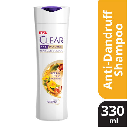 CLEAR WOMEN SHAMPOO HERBS 330ML