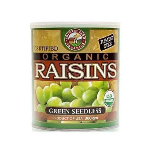 COUNTRY FARM GREEN RAISIN 300G