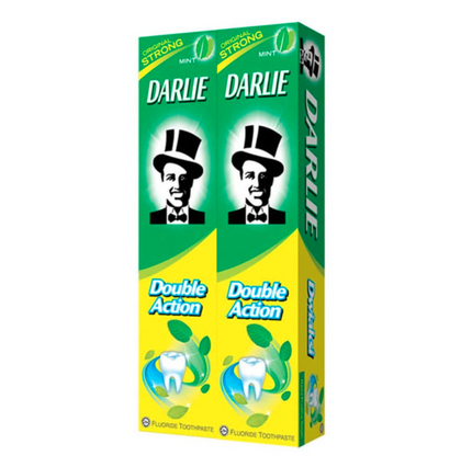 DARLIE TOOTHPASTE DOUBLE ACTION 225GX2