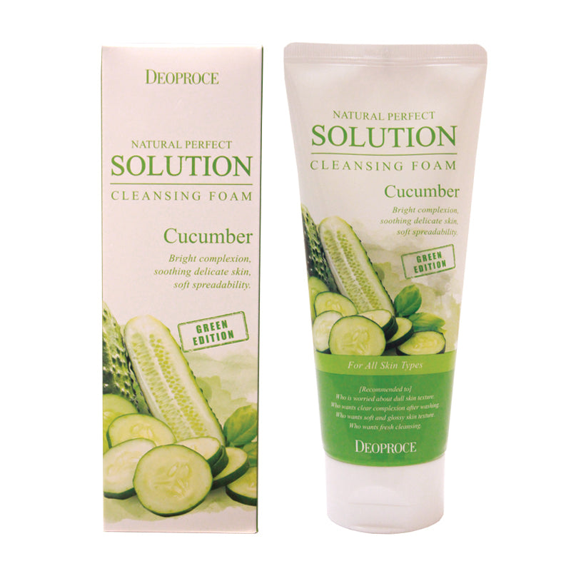 DEOPROCE NPS CLEANSING FOAM CUCUMBER 170GM