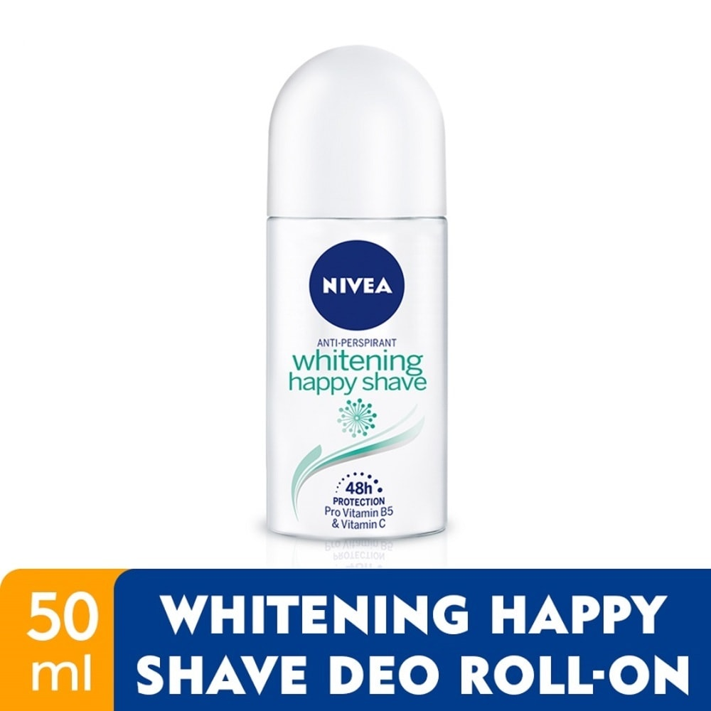 NIVEA DEO (F) ROLL ON HAPPY SHAVE 50ML