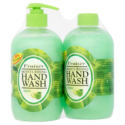 FRUISER HAND WASH APPLE 500ML X 2