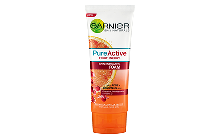 GARNIER PURE ACTIVE FRUIT ENERGY FOAM 100ML